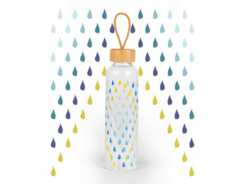 Cambridge üvegkulacs 550 ml - Raindrops