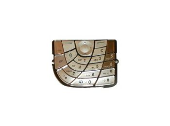 Nokia 7610 billentyűzet barna utángyártott*