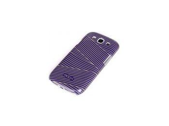 Rock Luxurious műanyag hátlaptok Samsung i9300, i9301, i9305 Galaxy S3-hoz lila*
